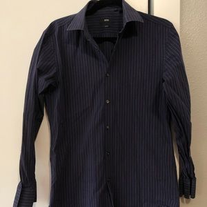 Hugo Boss Slim Fit Button Up - Size 15 1/2